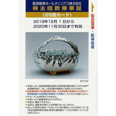 阪急阪神ホールディングス株主優待券の高価買取