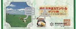 雪印北海道カマンベールギフト券