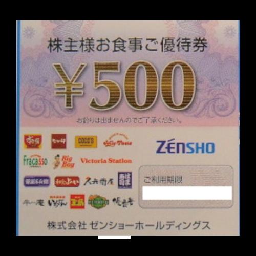 ゼンショー株主優待券の高価買取
