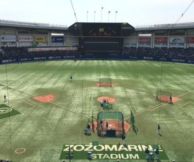 ZOZOマリンスタジアム開催/千葉ロッテマリーンズ戦