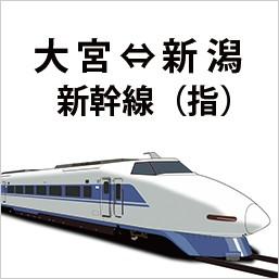 上越新幹線 大宮~新潟 指定