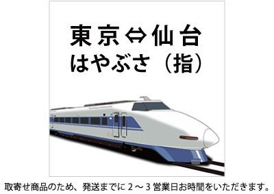 東北新幹線 東京-仙台 はやぶさ 指定