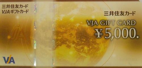 VISA(VJA) 5,000円