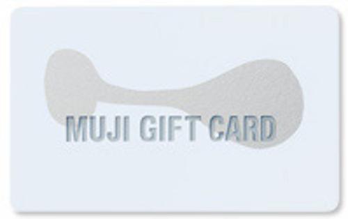無印良品ギフトカード 1,000円